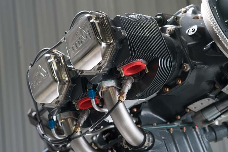 Continental Motors X370 Series Engine