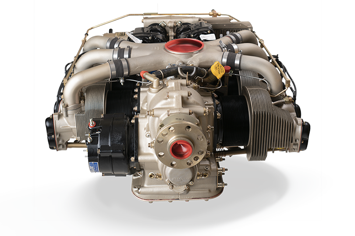 Continental GSTIO-520 AvGas Engine: Front View