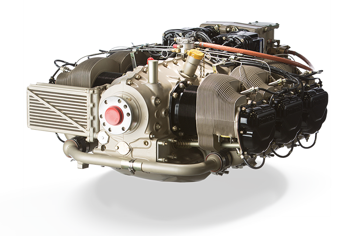 Continental IO-520-F AvGas Engine